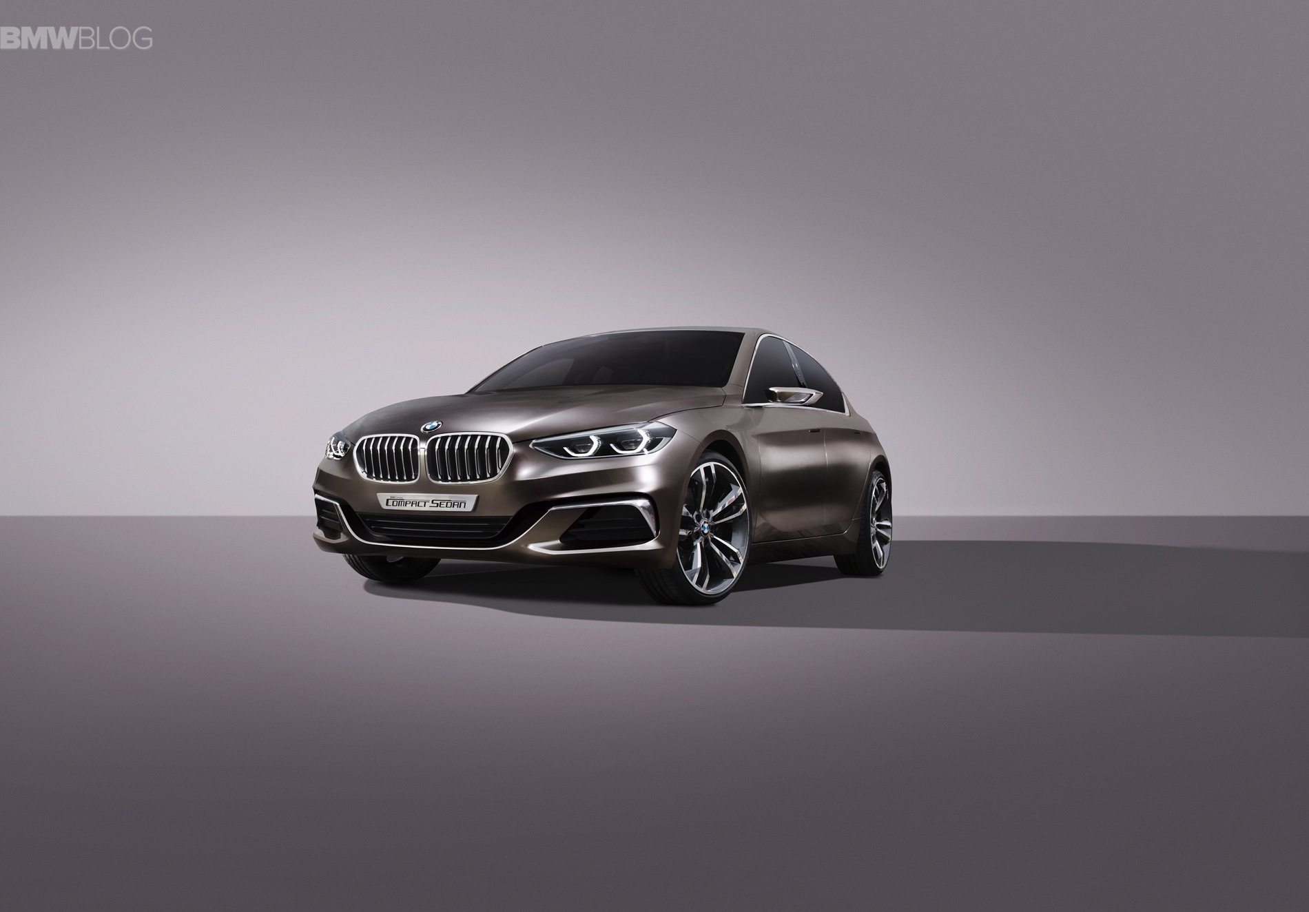 BMW Concept Compact Sedan images 2