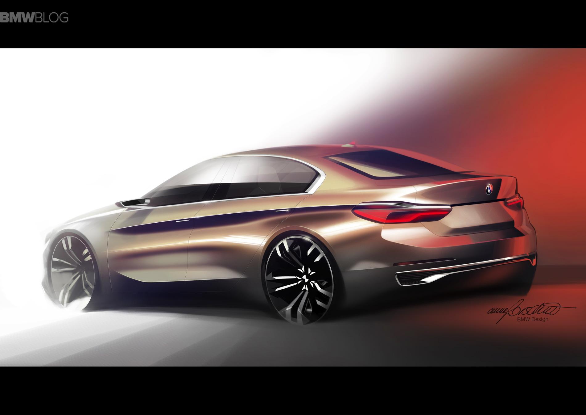 BMW Concept Compact Sedan images 20