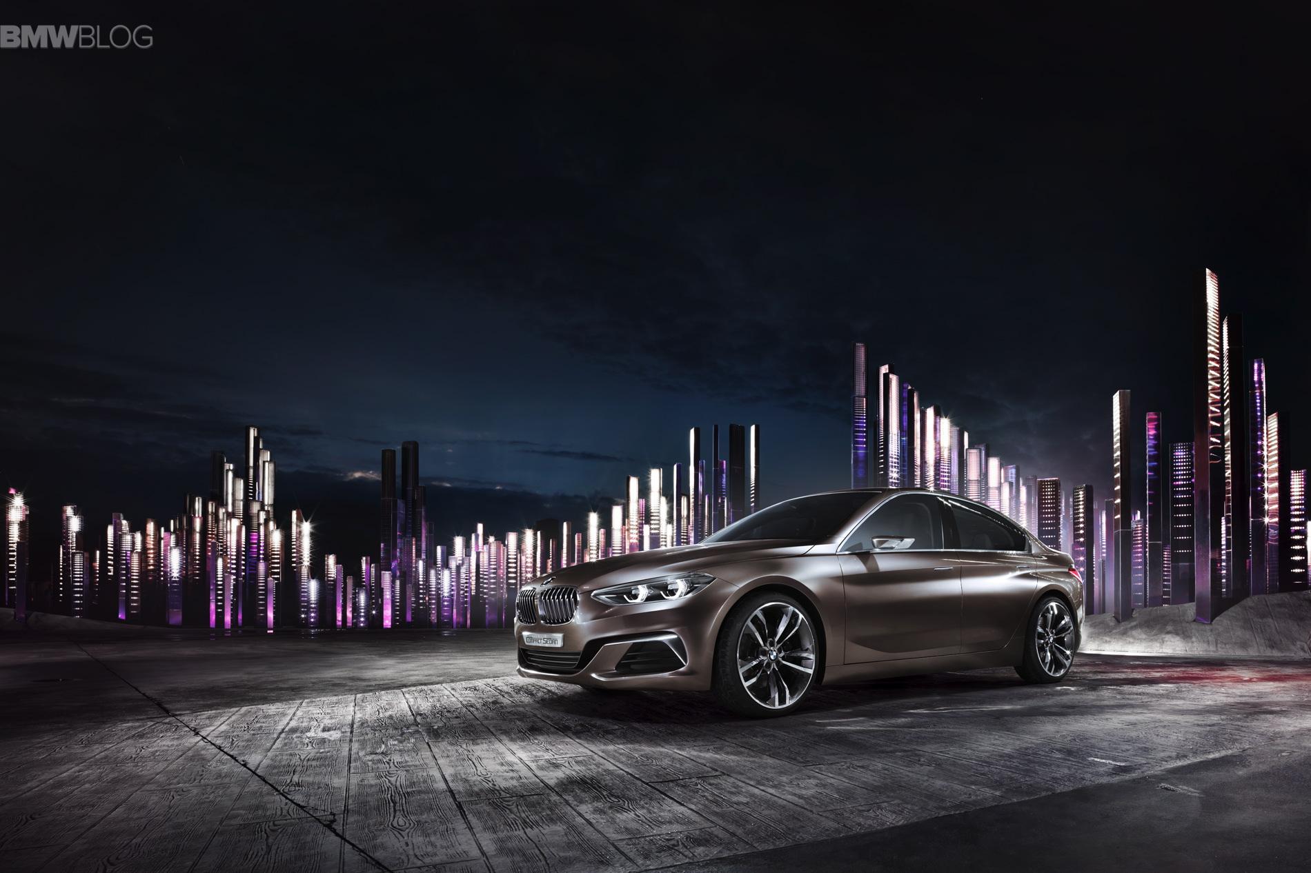BMW Concept Compact Sedan images 5