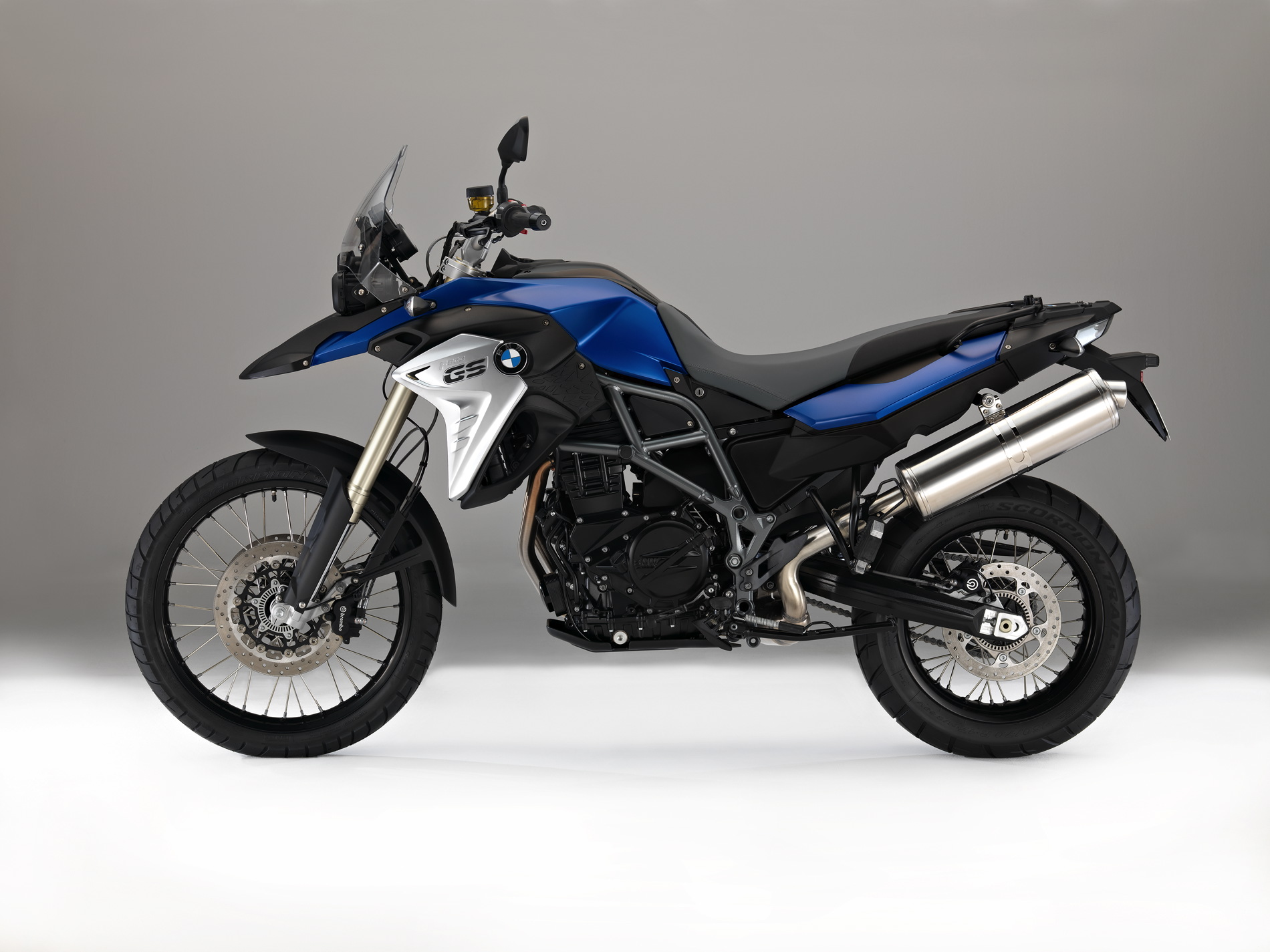 Stability In Control System >> BMW unveils refreshed F 700 GS and F 800 GS