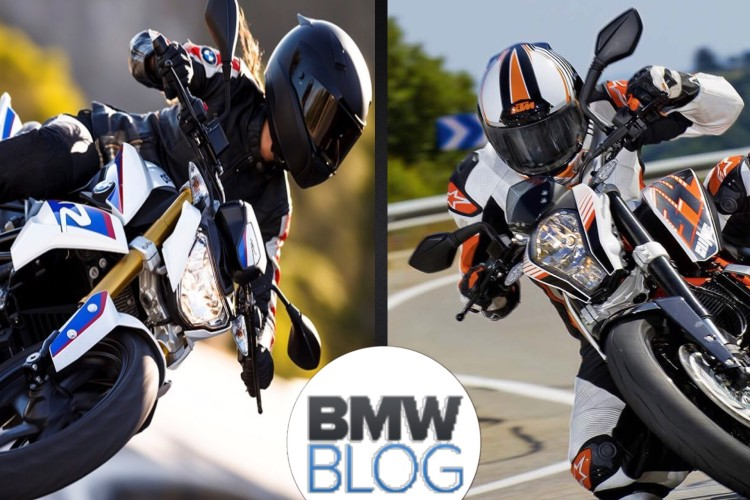 BMW G310 R vs. KTM 390 Duke 750x500