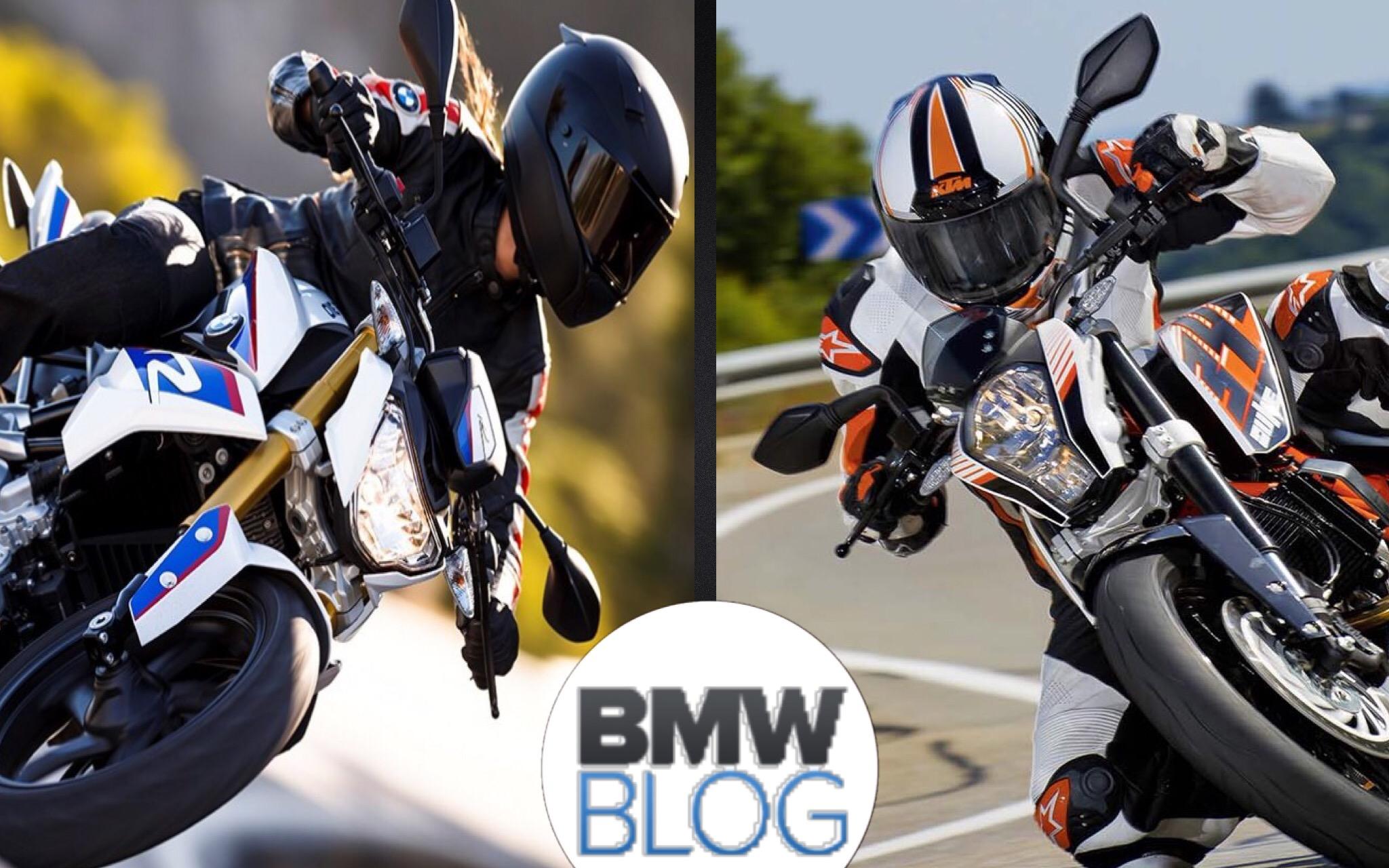 BMW G310 R vs. KTM 390 Duke
