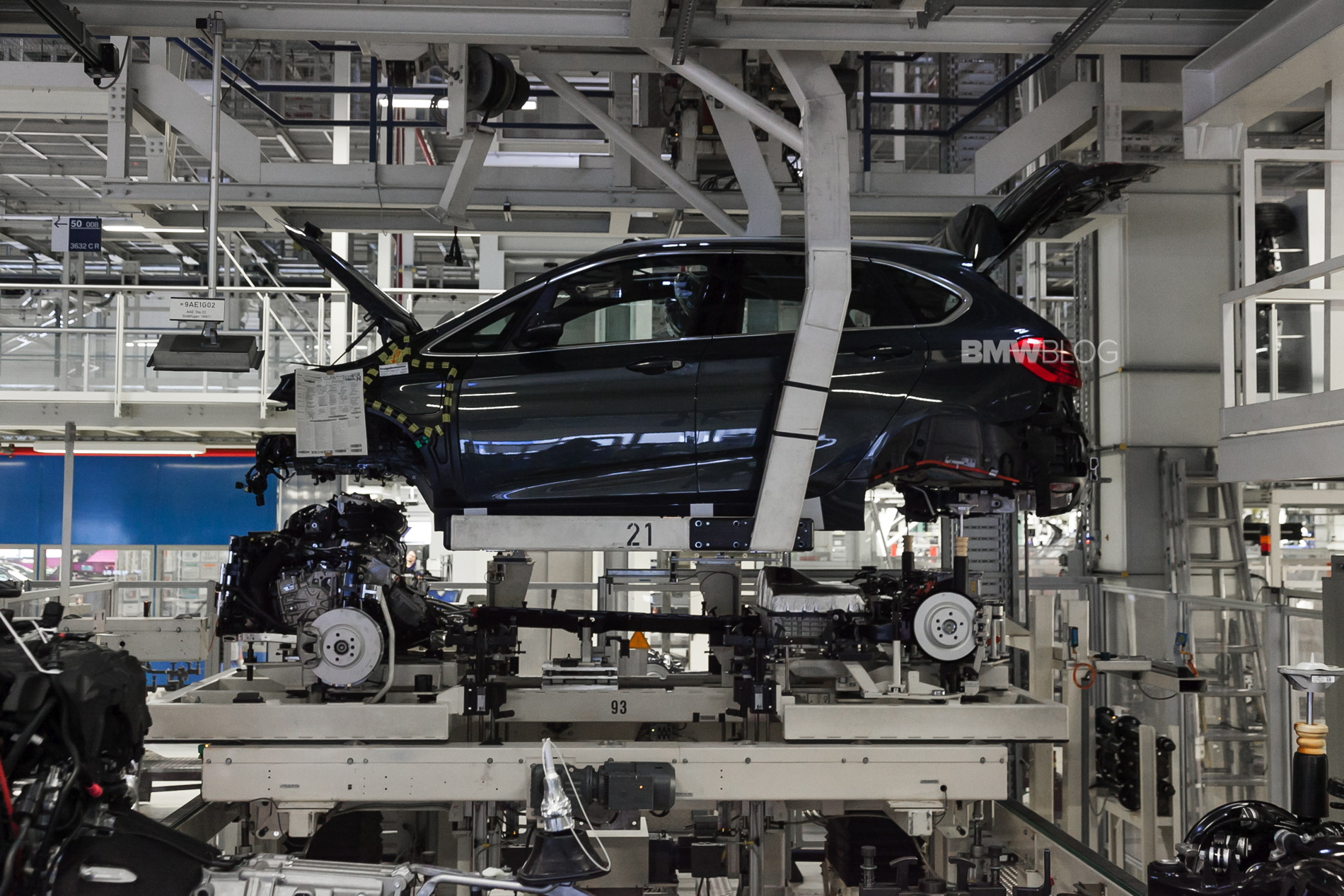 Bmw Leipzig Plant To Get Investments Of Over 300 Million Up