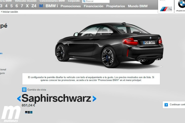 BMW-M2-equipment-standard