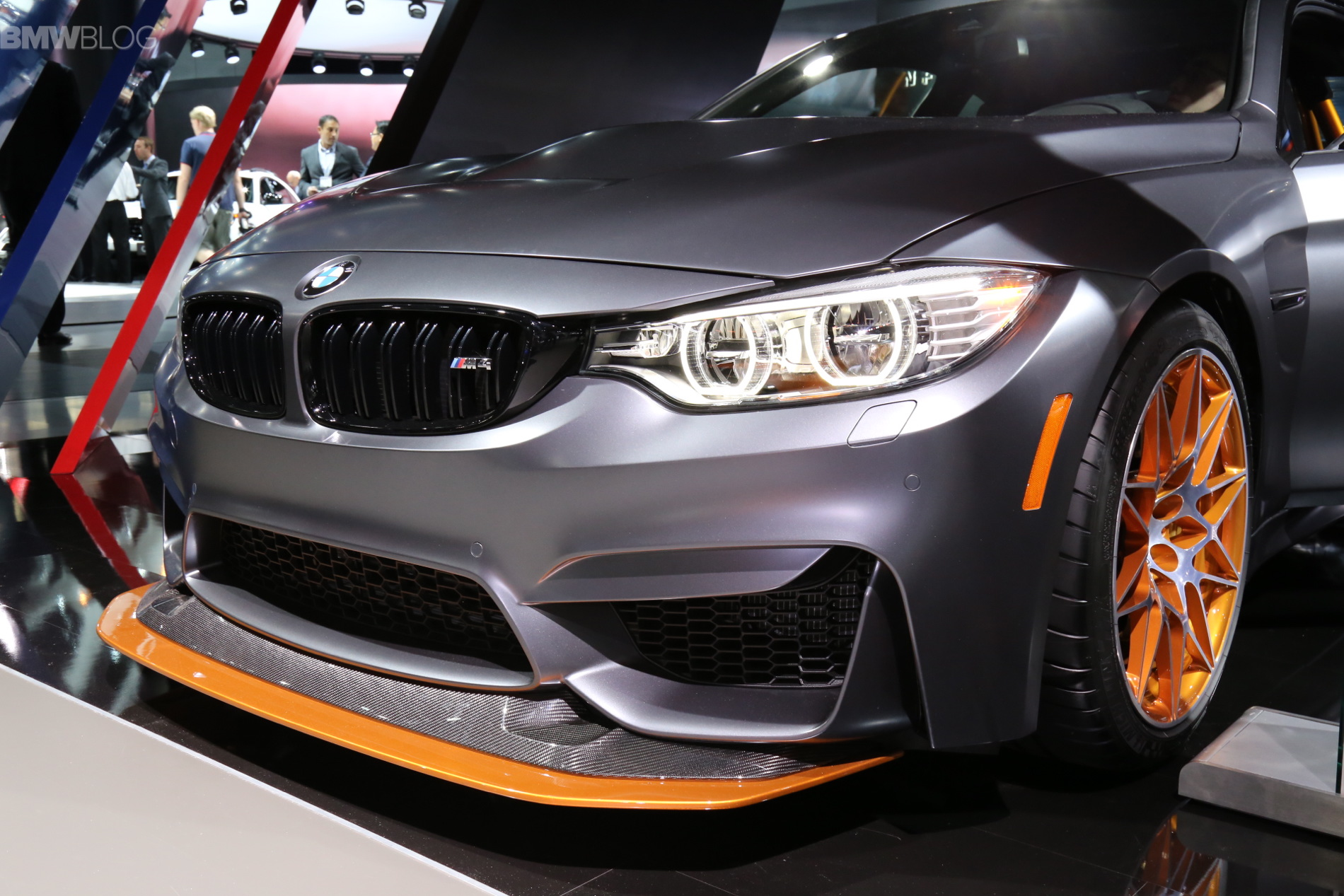 2015 La Auto Show Bmw M4 Gts Makes Its North American Debut