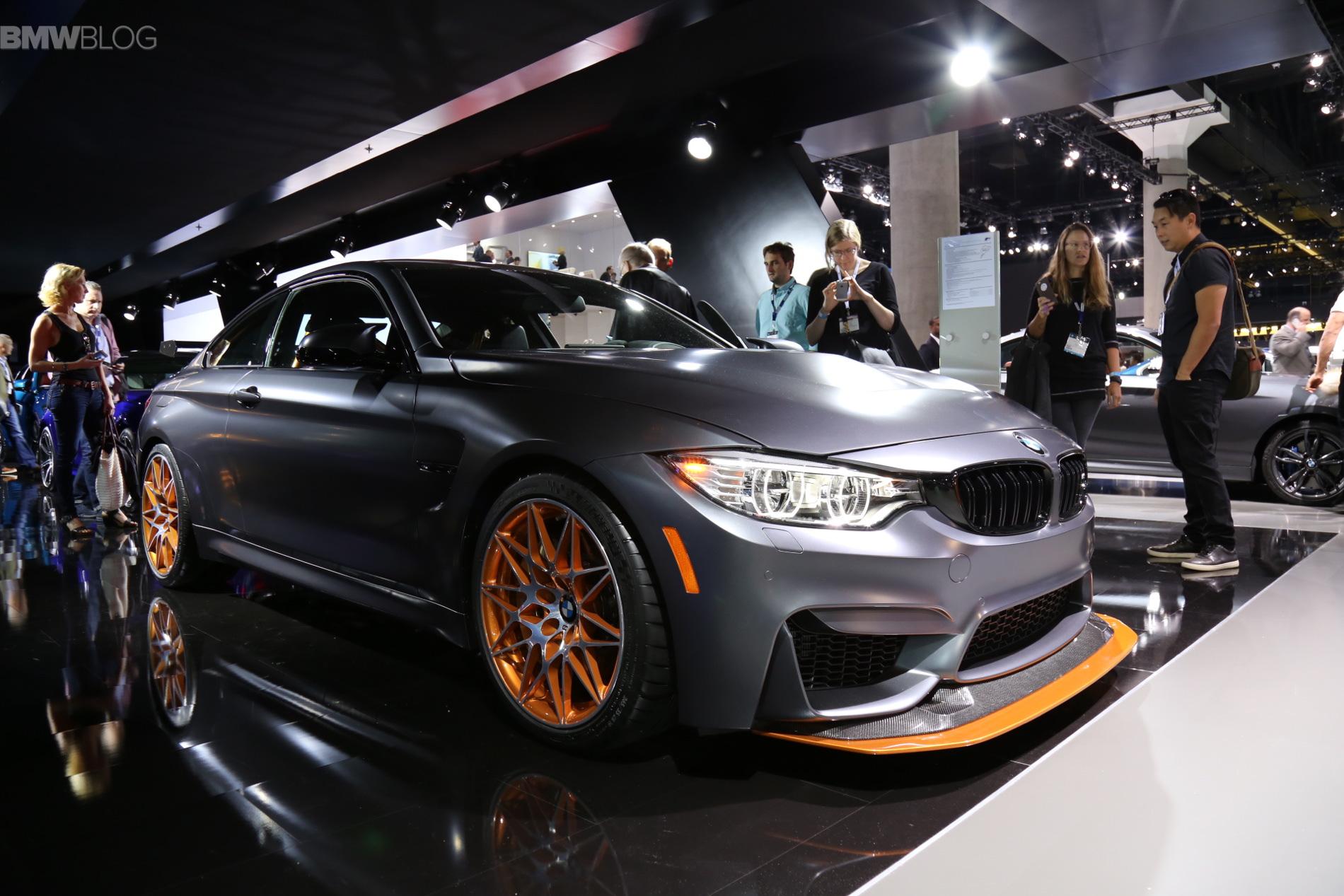 2015 La Auto Show Bmw M4 Gts Makes Its North American Debut