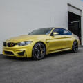 Austin Yellow BMW F82 M4