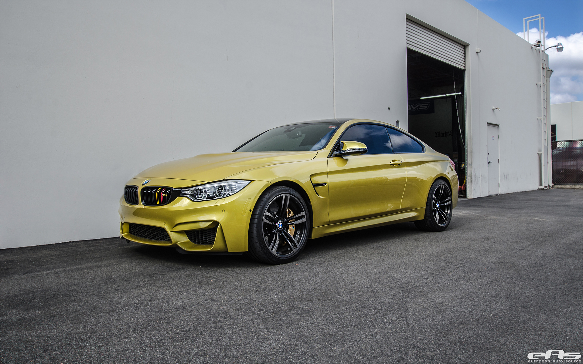 Austin Yellow Bmw M4 Coupe Gets An Aftermarket Treatment