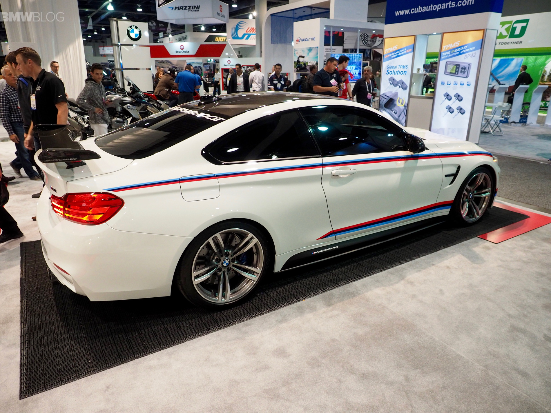 Bmw M4 M Performance Parts Photos From Sema 2015