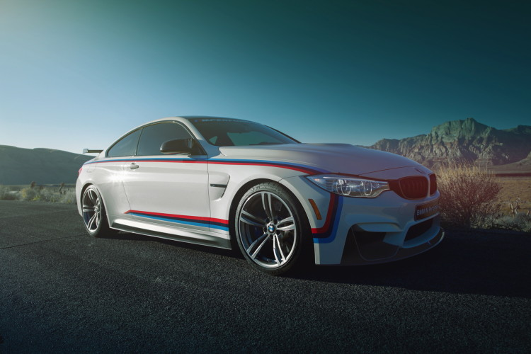 BMW M4 M Performance Parts wallpaper 4 750x500