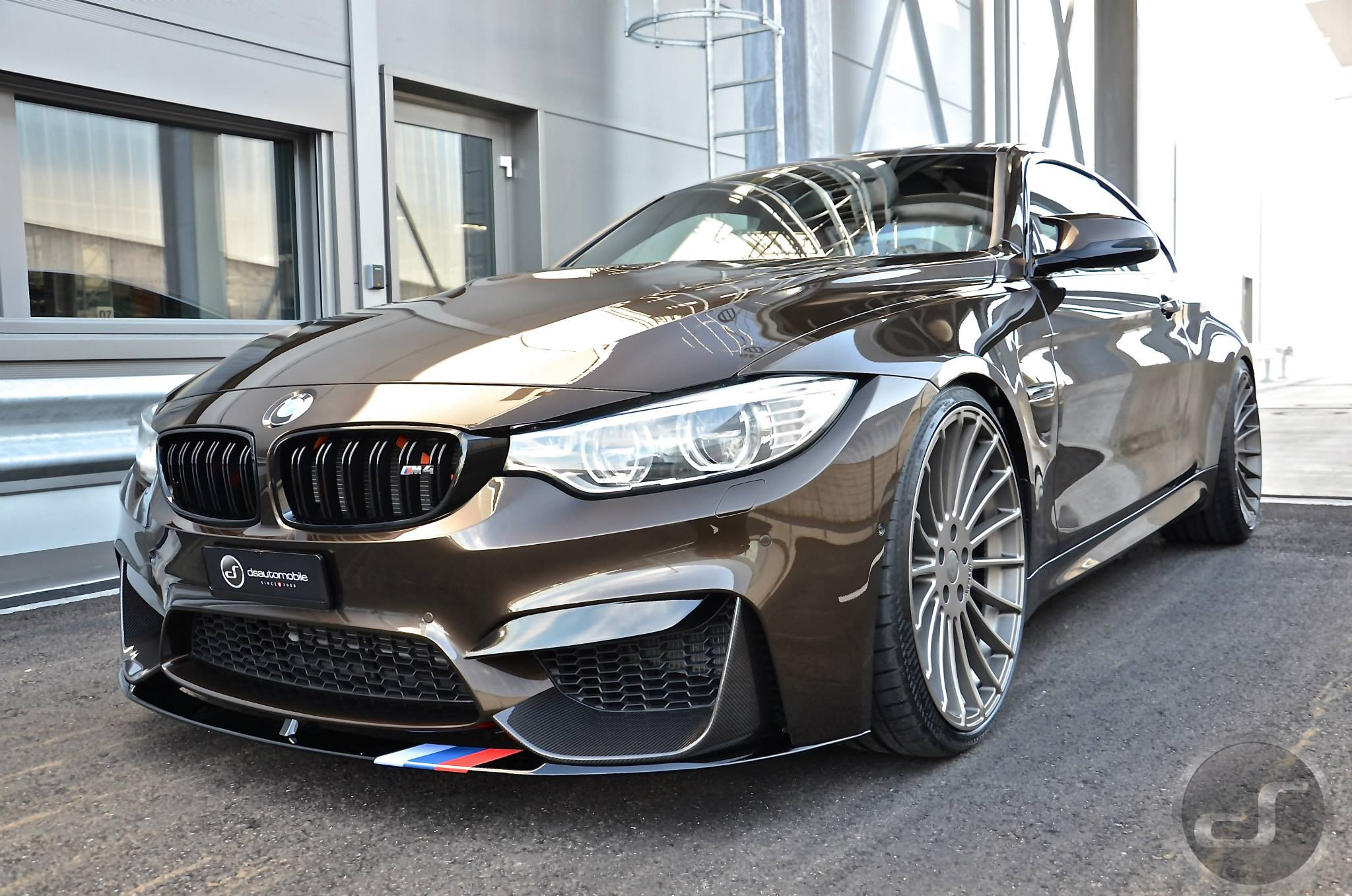 Bmw M4 In Pyrite Brown Metallic M Performance Meets