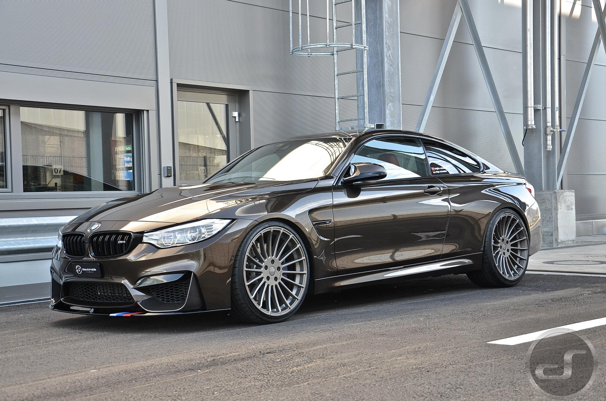 Bmw European Delivery >> BMW M4 in Pyrite Brown Metallic: M Performance meets Individual