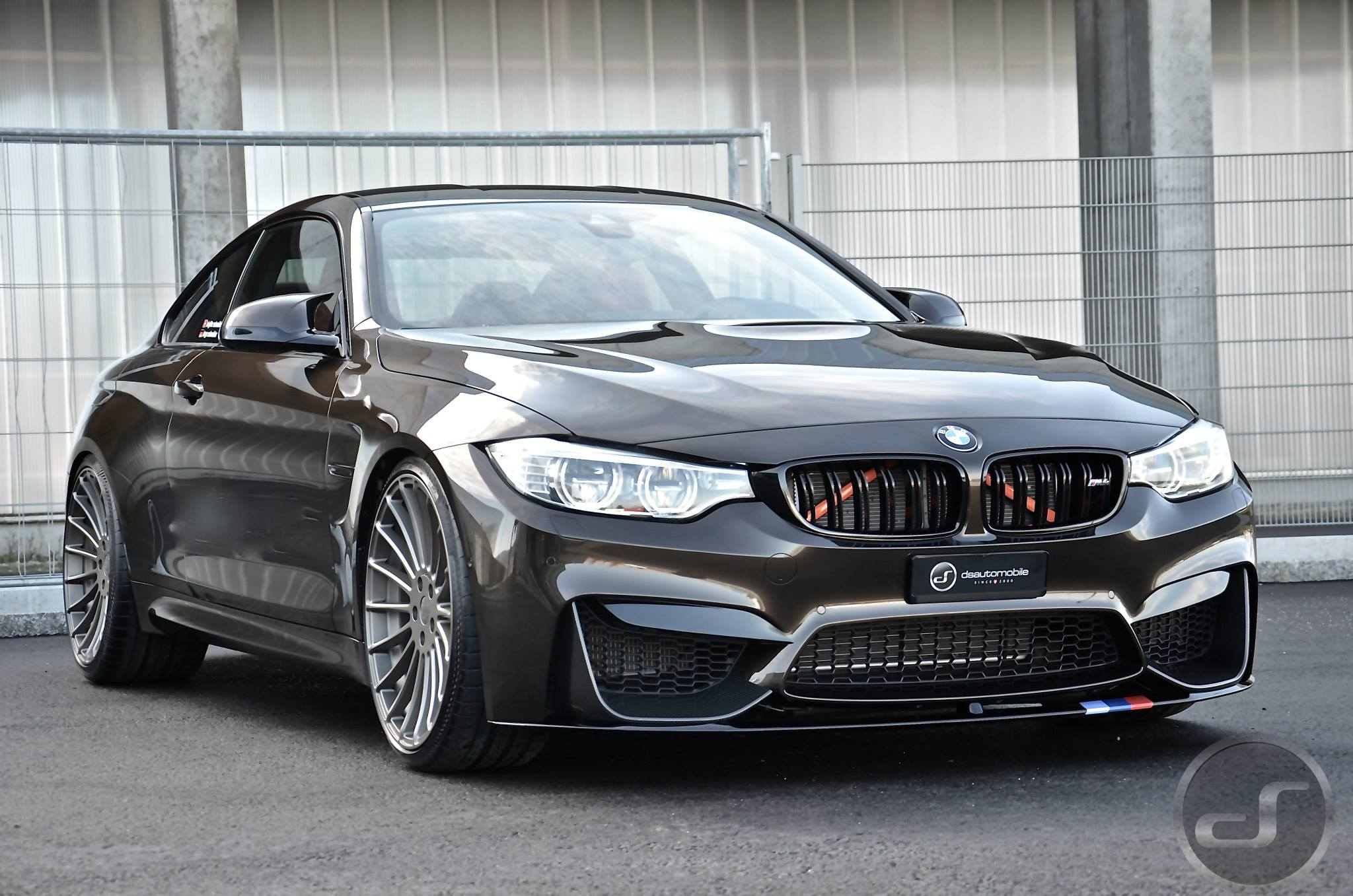 Bmw M4 In Pyrite Brown Metallic M Performance Meets Individual