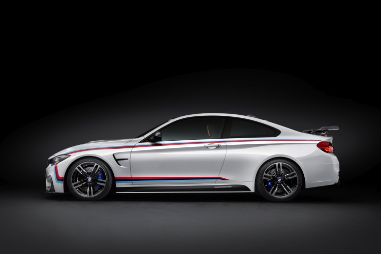BMW M4 through flow high trunk spoiler SEMA 10 750x500