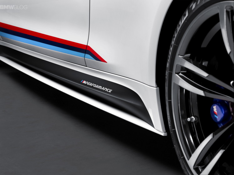 BMW M4 through-flow high trunk spoiler-SEMA-5