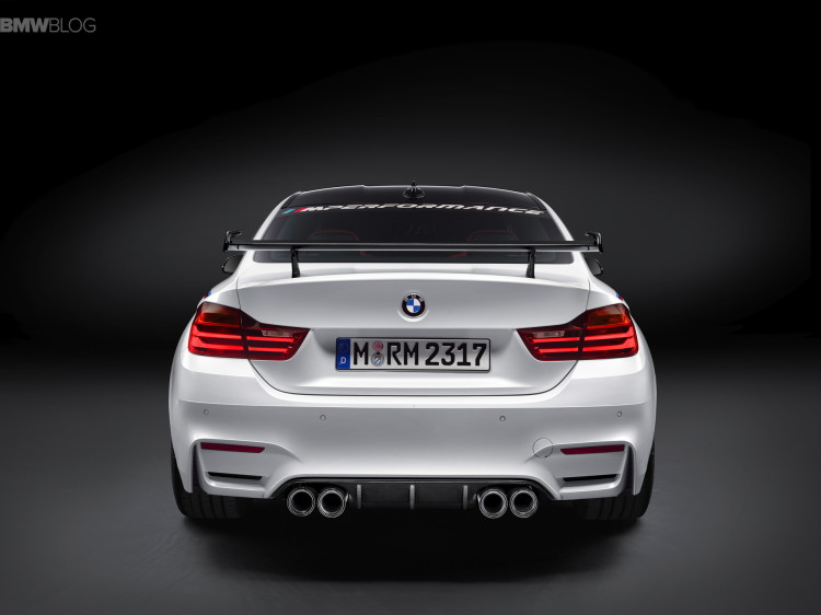 BMW M4 through-flow high trunk spoiler-SEMA-9