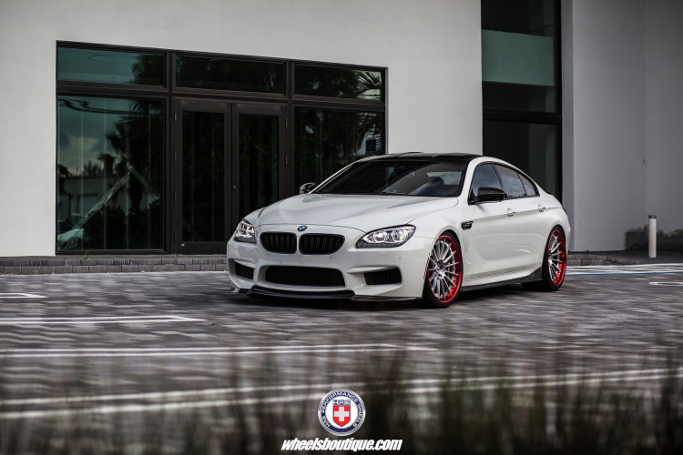 BMW M6 Gran Coupe on HRE RS103 Wheels 5 750x500