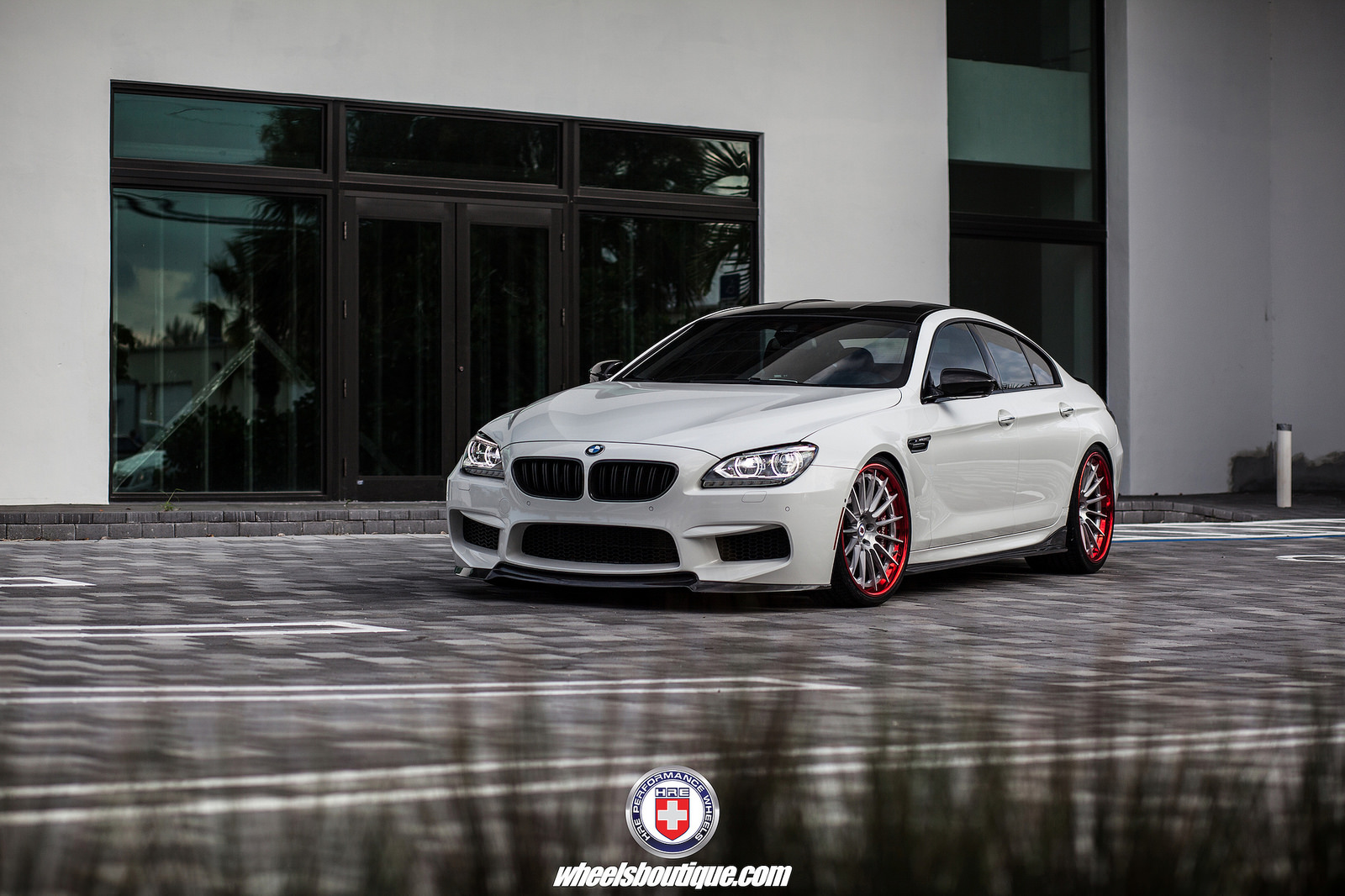 BMW M6 Gran Coupe on HRE RS103 Wheels 5