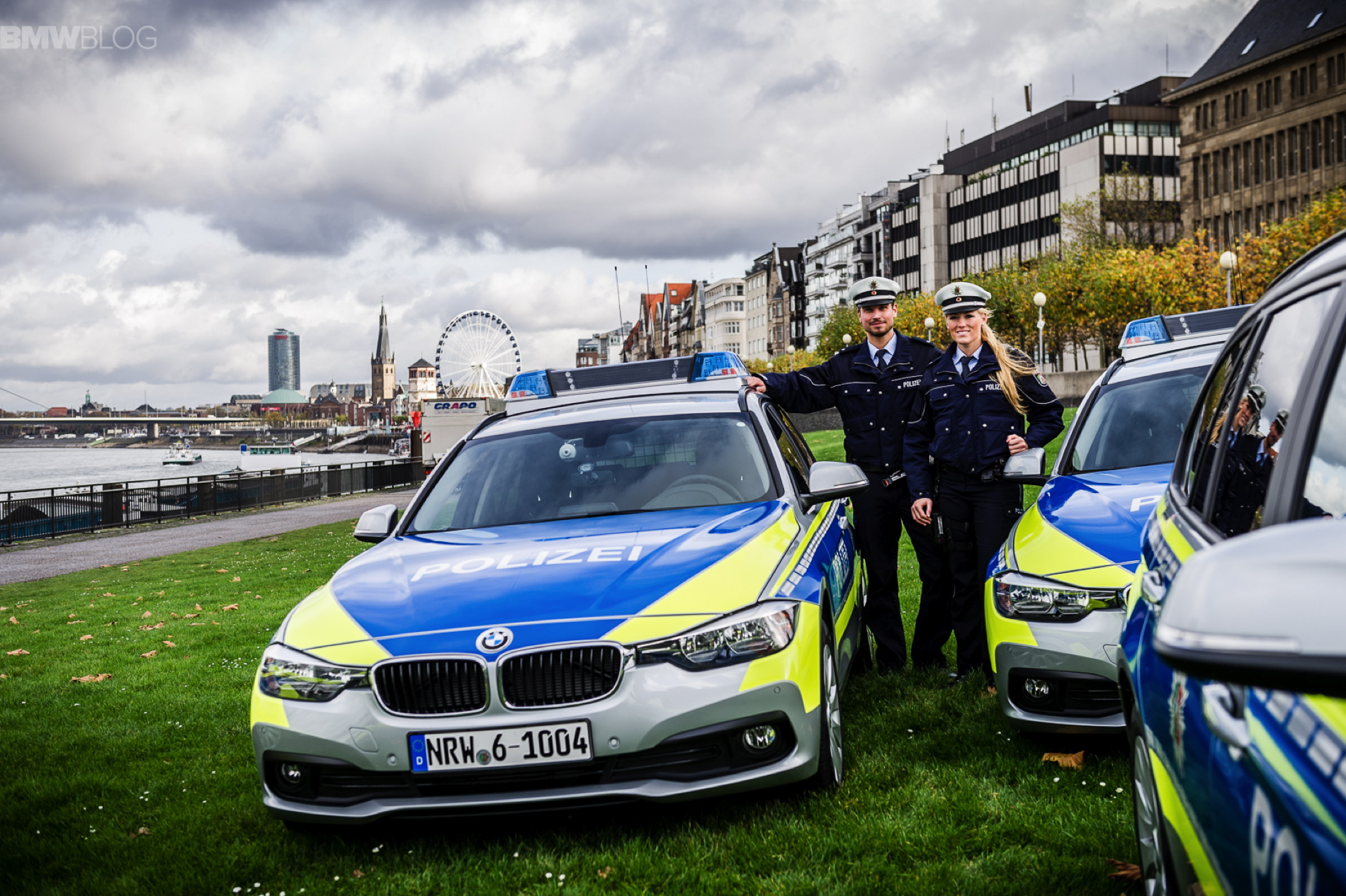 BMW Police cars Dusseldorf 1
