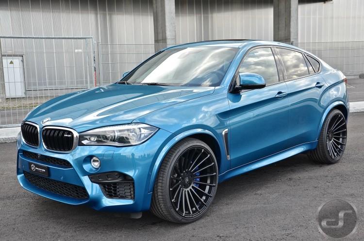 BMW X6 M Tuning F86 Hamann Felgen 02 750x497