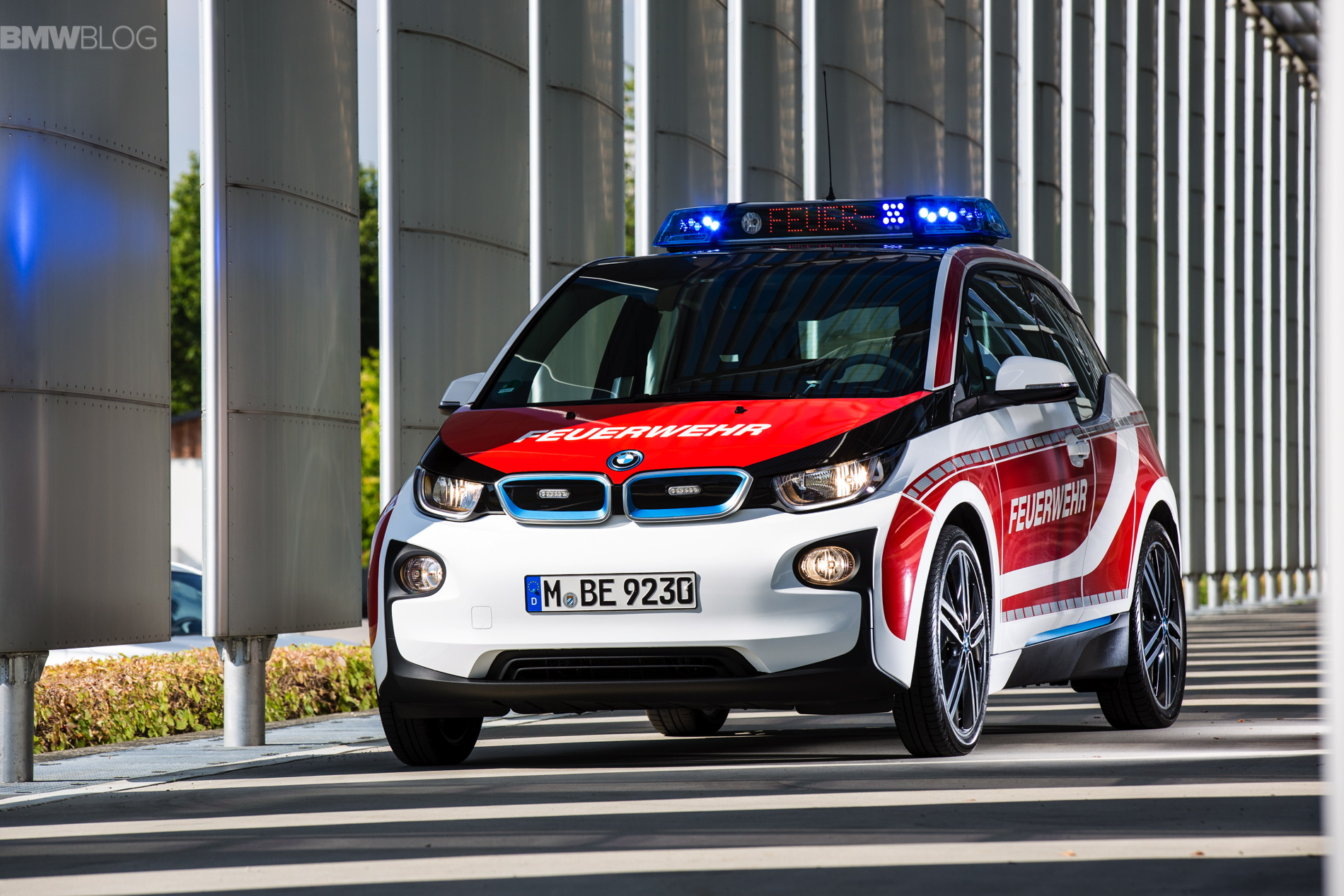 Bmw I3 Now Available For Police Forces Rescue Services And Fire Departments