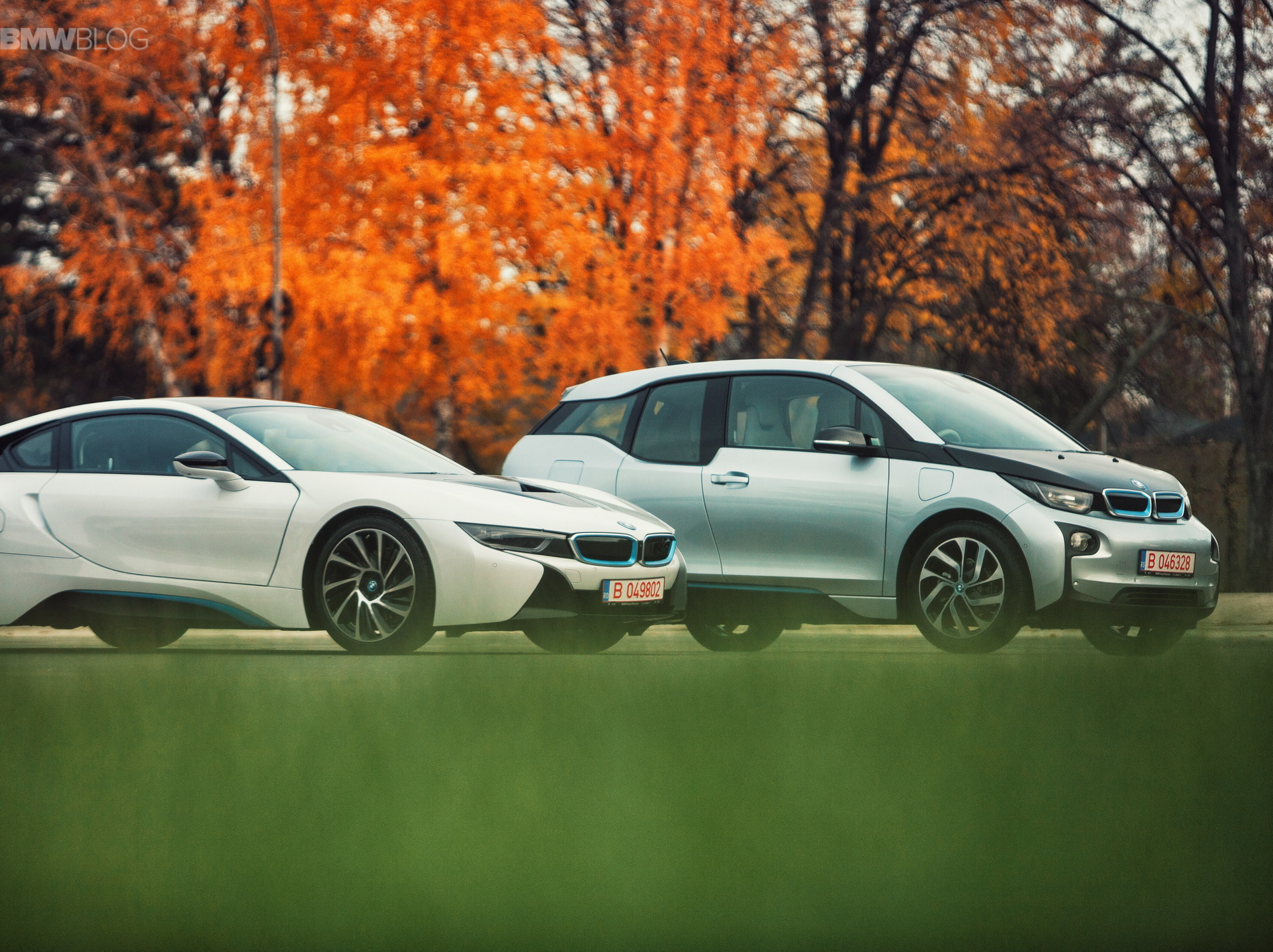 BMW i3 i8 photoshoot bucharest images 19