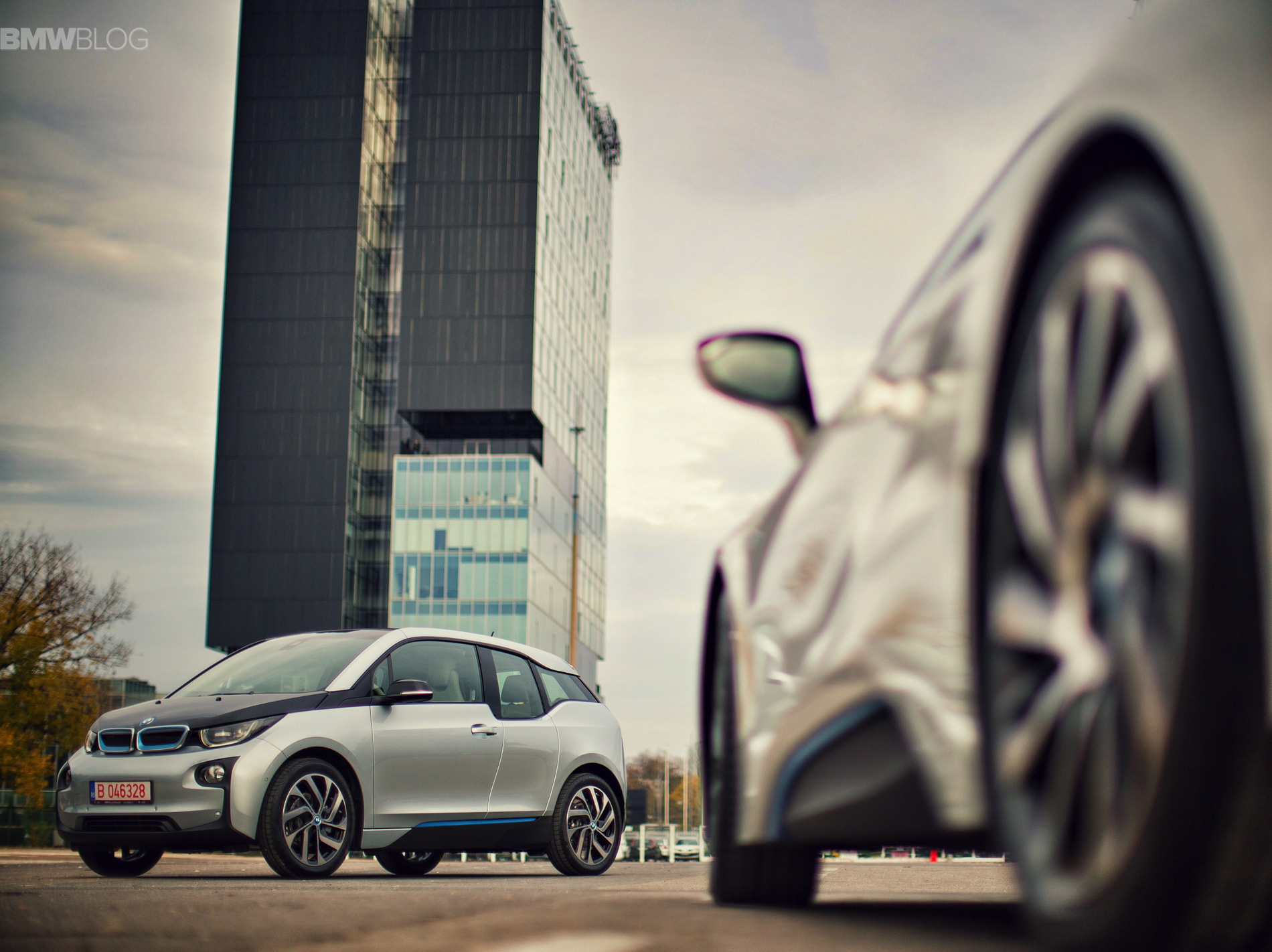 BMW i3 i8 photoshoot bucharest images 6
