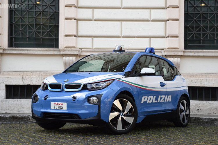 BMW i3 police car images 5 750x500