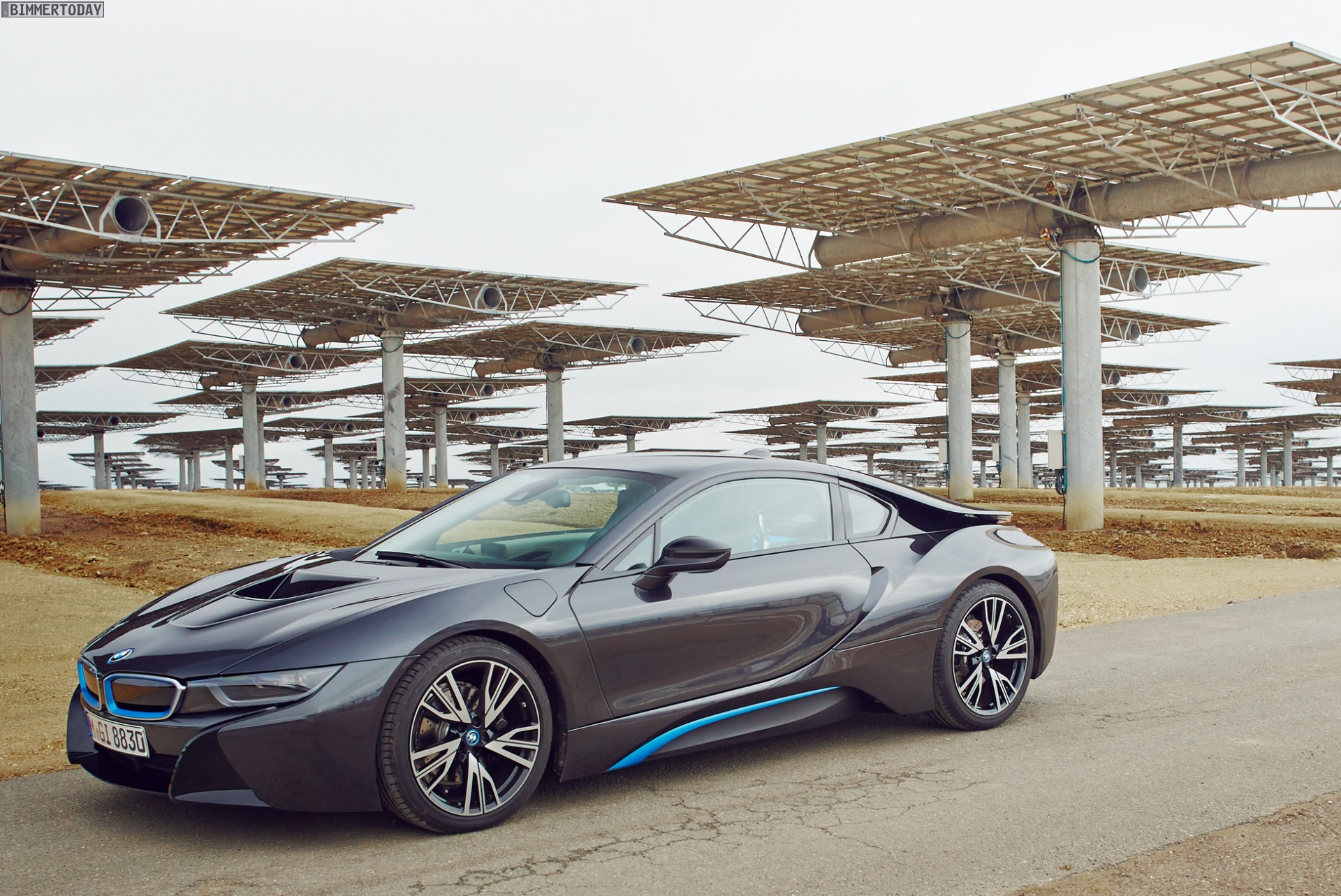 Bmw I8 Frozen Grey Edition Coming To Germany