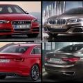 Bild Vergleich BMW Compact Sedan Concept 1er F52 Audi S3 Limousine 2015 01 120x120