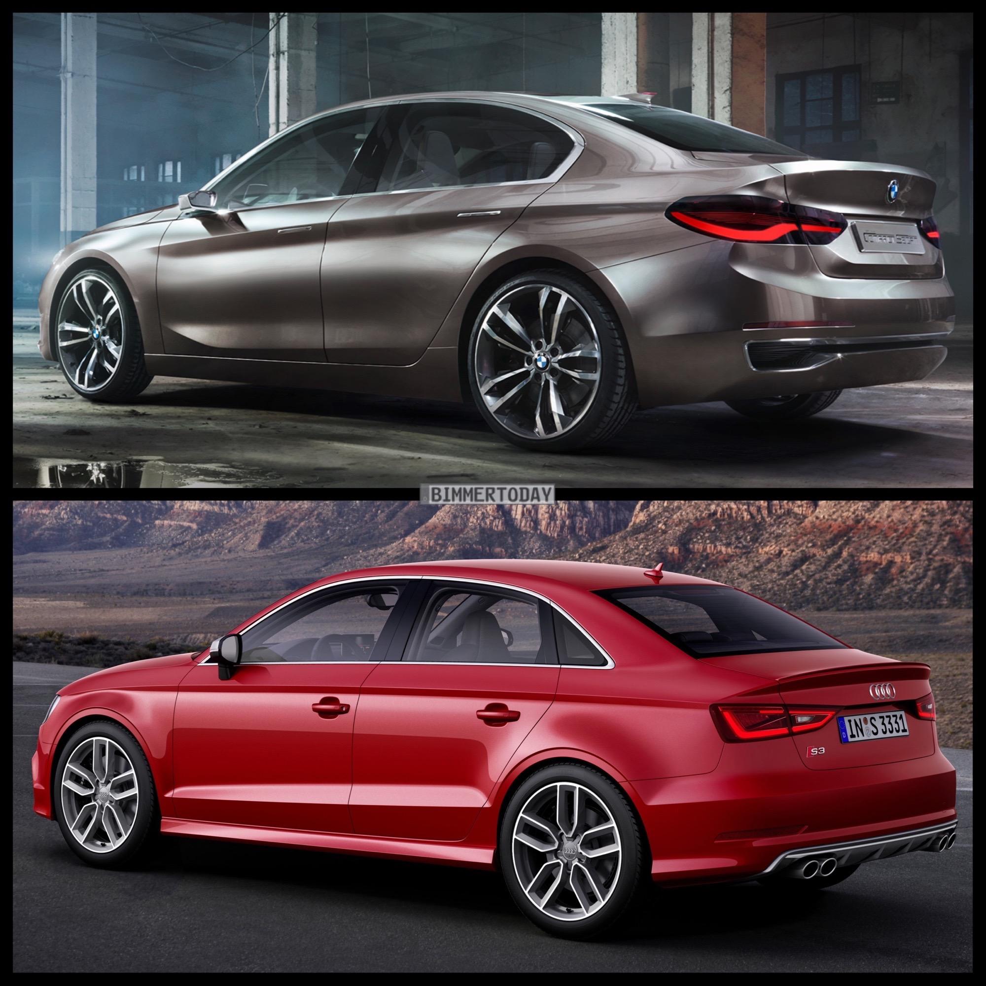 Image Comparison: BMW 1 Series Sedan Vs Audi A3