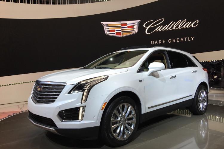 Cadillac XT5 LA Auto Show 1 750x500