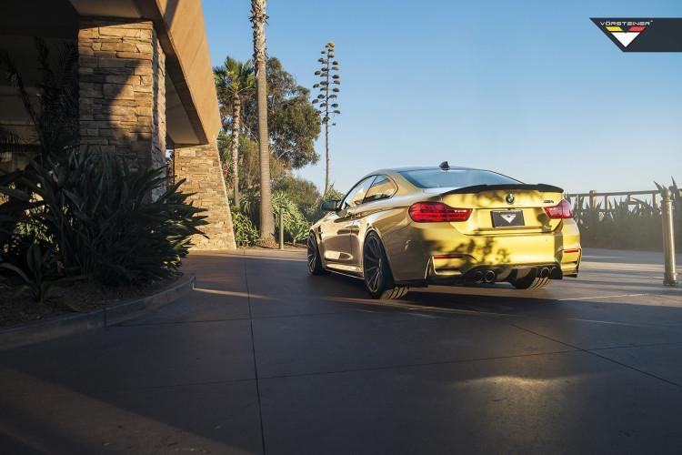 Austin Yellow BMW M4 Featuring Vorsteiner V-FF 102 Wheels