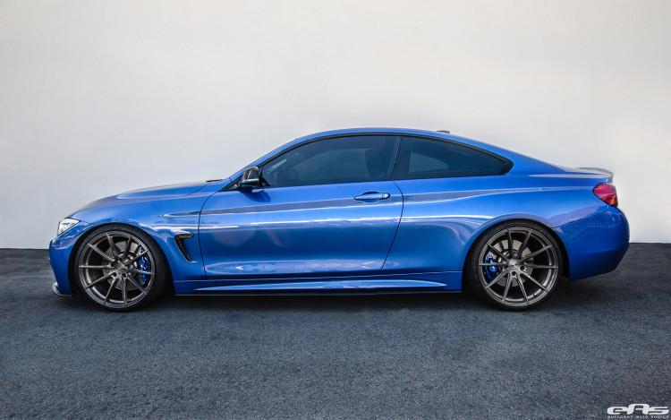 Estoril Blue BMW 435i Build 4
