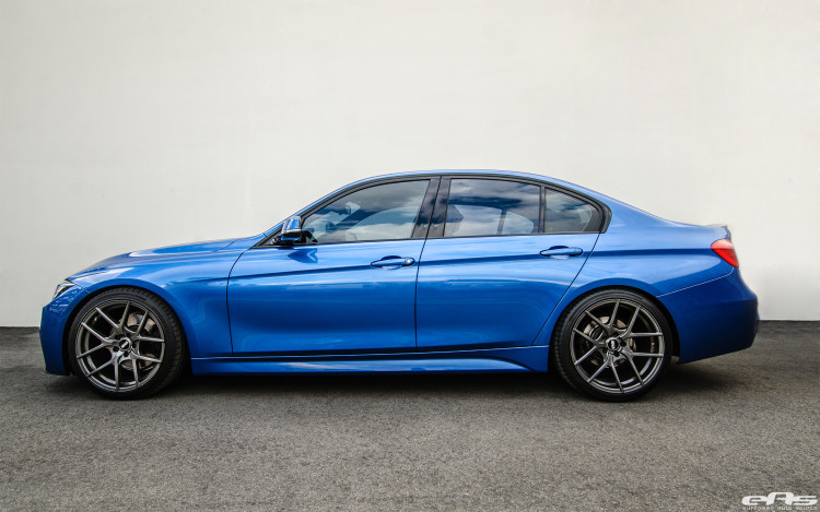 Estoril Blue BMW F30 328i Gets Modded At European Auto Source 5 750x469