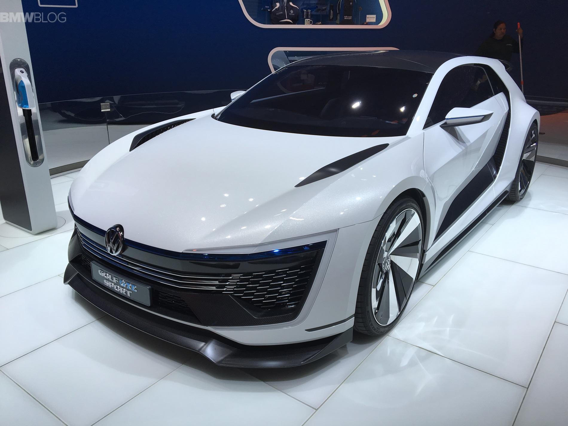 Golf GTE Sport Concept LA Auto Show 1