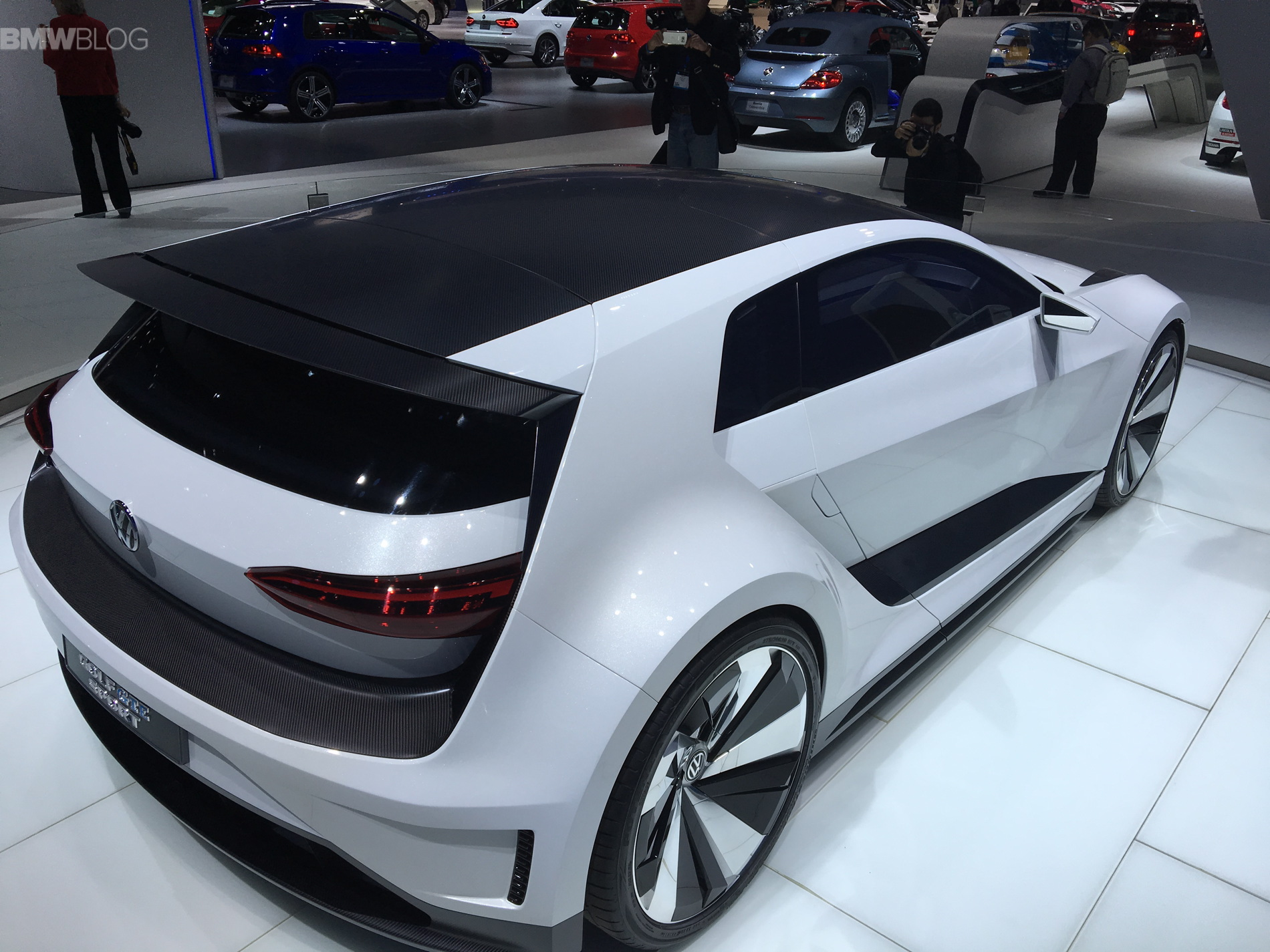 Golf Sport Gte >> VW launches GTE Sport Concept at 2015 LA Auto Show