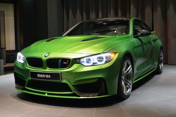 Java Green BMW M4 0 750x500