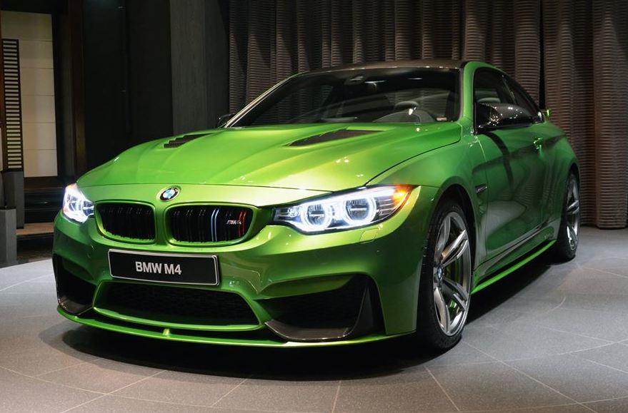 Java Green BMW M4 0