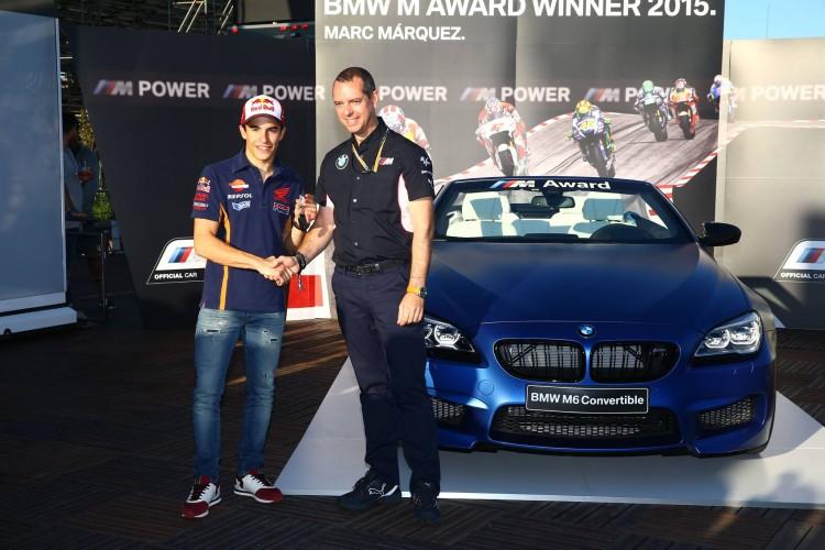 Marc Marquez BMW M Award 2015 01 750x500