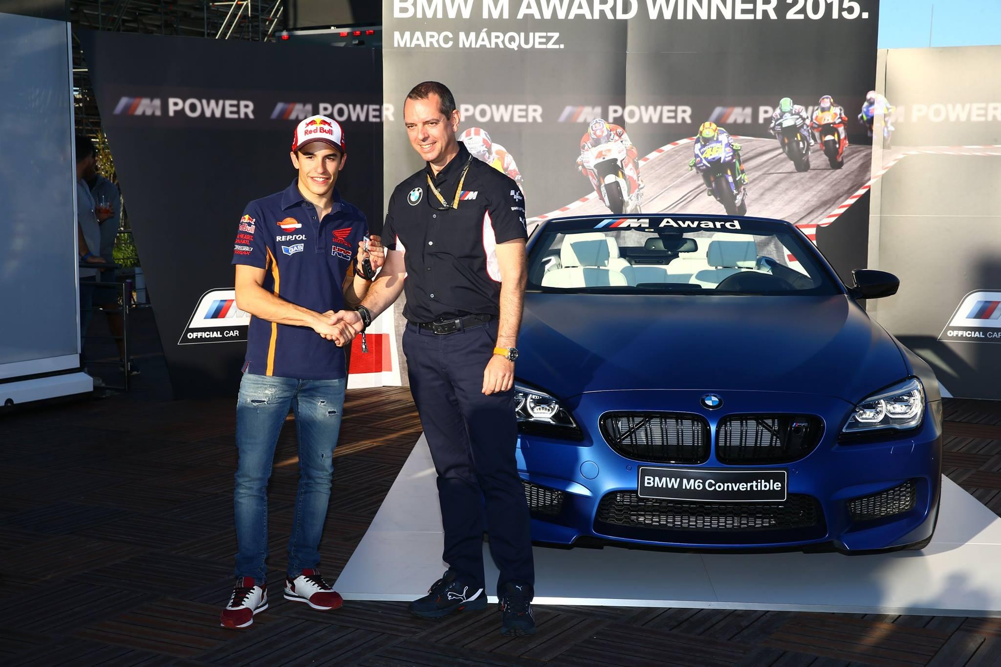 Marc Marquez BMW M Award 2015 01