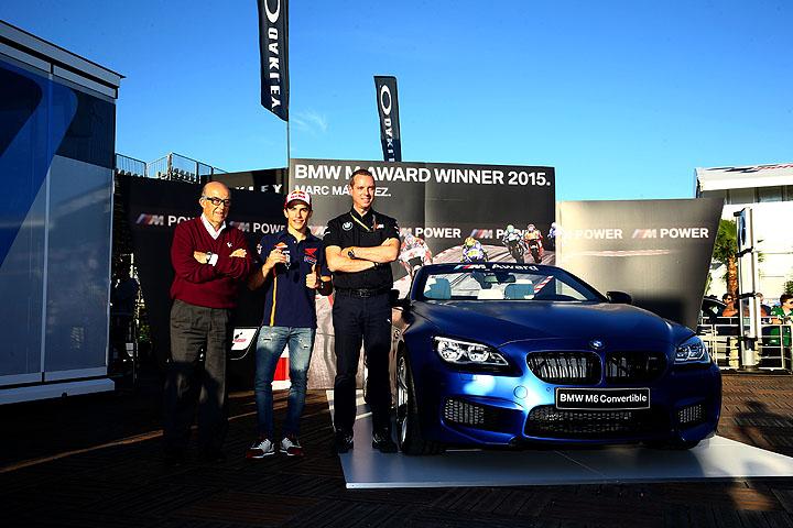 Marc Marquez BMW M Award 2015 03