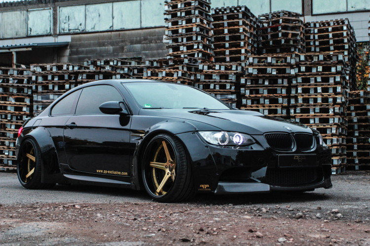 PP Exclusive BMW M3 E92 Liberty Walk 7 750x500