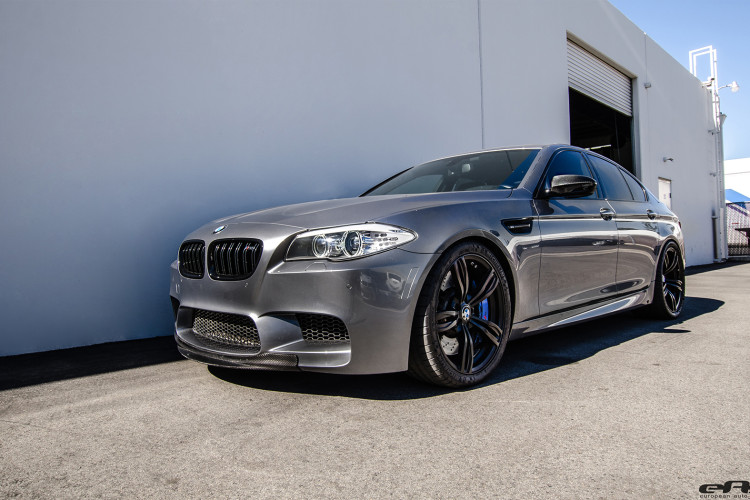 Space Gray Metallic BMW F10 M5 Tuned By EAS image 1 750x500