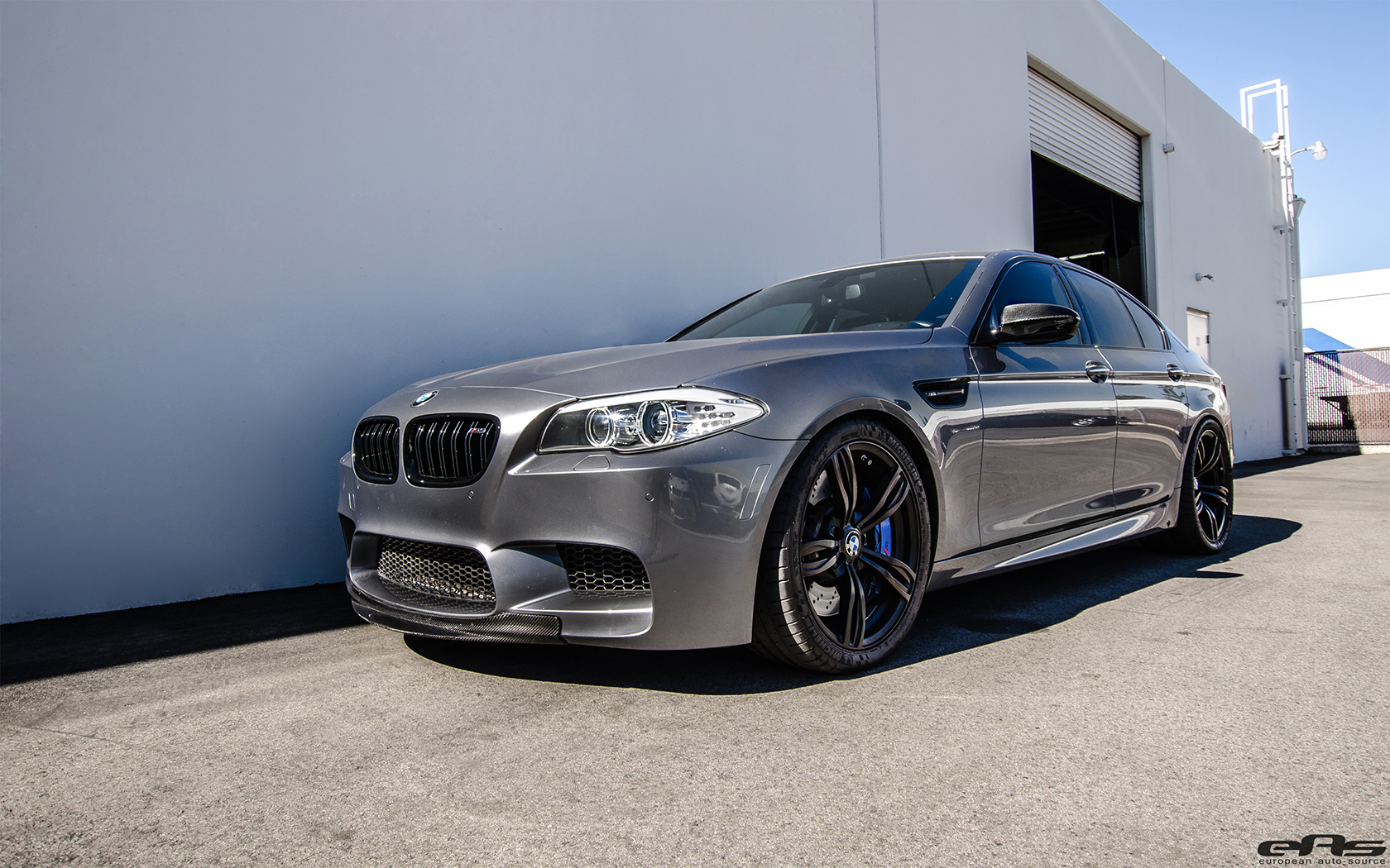 Carbon Fiber Wheels >> Space Gray Metallic BMW F10 M5 Tuned By EAS