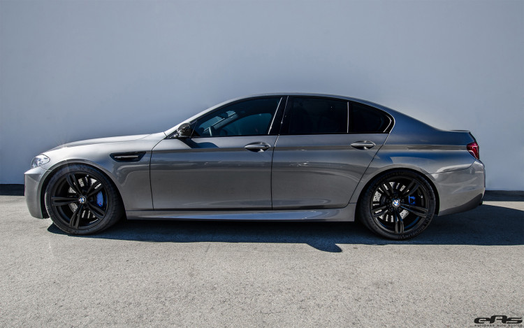 Space Gray Metallic BMW F10 M5 Tuned By EAS image 8 750x469