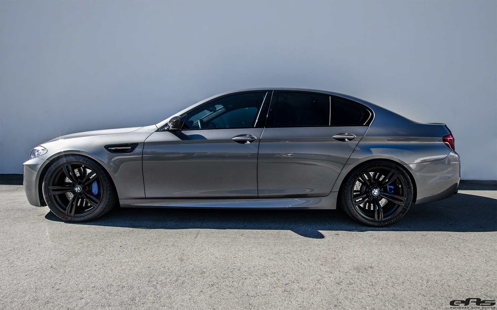 Space Gray Metallic Bmw F10 M5 Tuned By Eas
