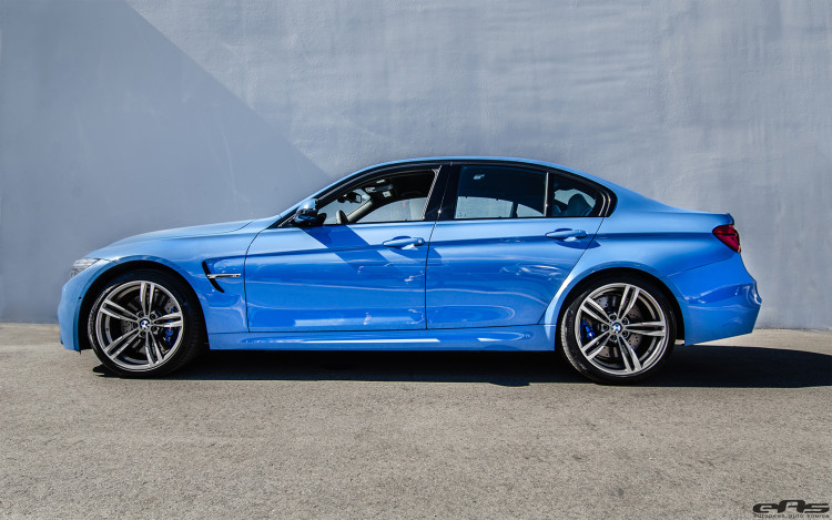 Yas Marina Blue BMW F80 M3 Build By EAS