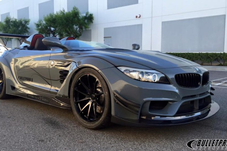 bulletproof automotives bmw z4 gt continuum isnt actually bulletproof 1 750x500