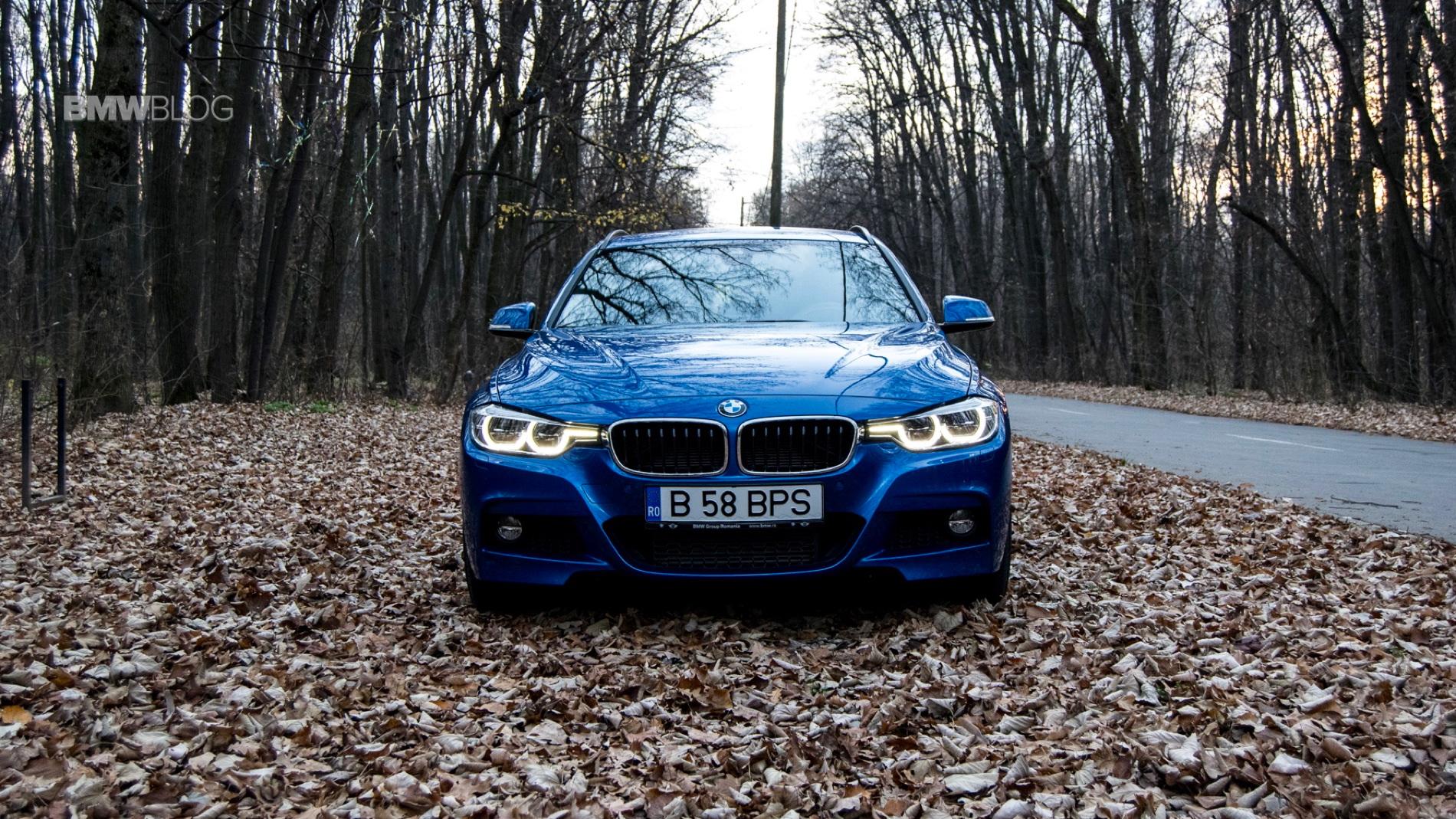 2015 BMW 320d xDrive Touring test drive 45